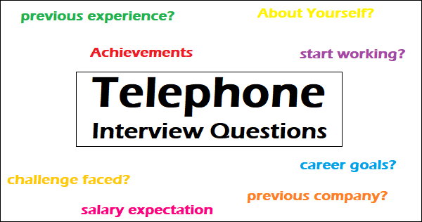 Top 40 Frequently Asked Telephone Interview Questions