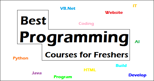 Top 5 Best Programming Courses for Freshers – 2020